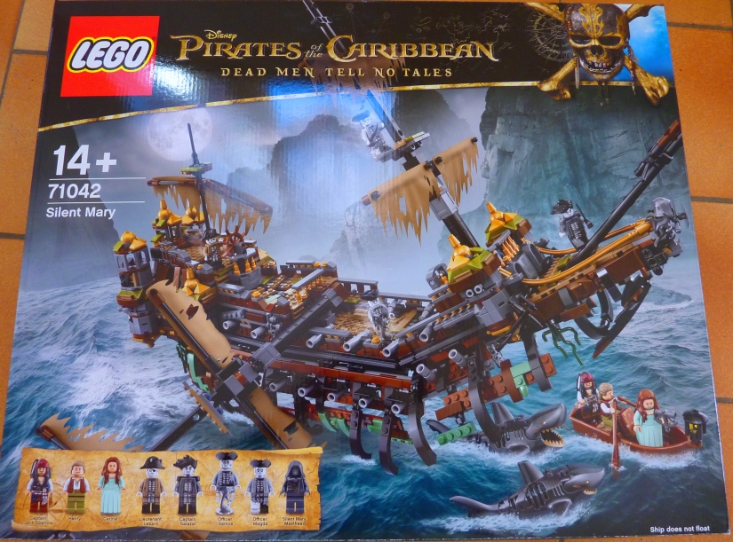 review lego pirates des cara bes 71042 silent mary. Black Bedroom Furniture Sets. Home Design Ideas