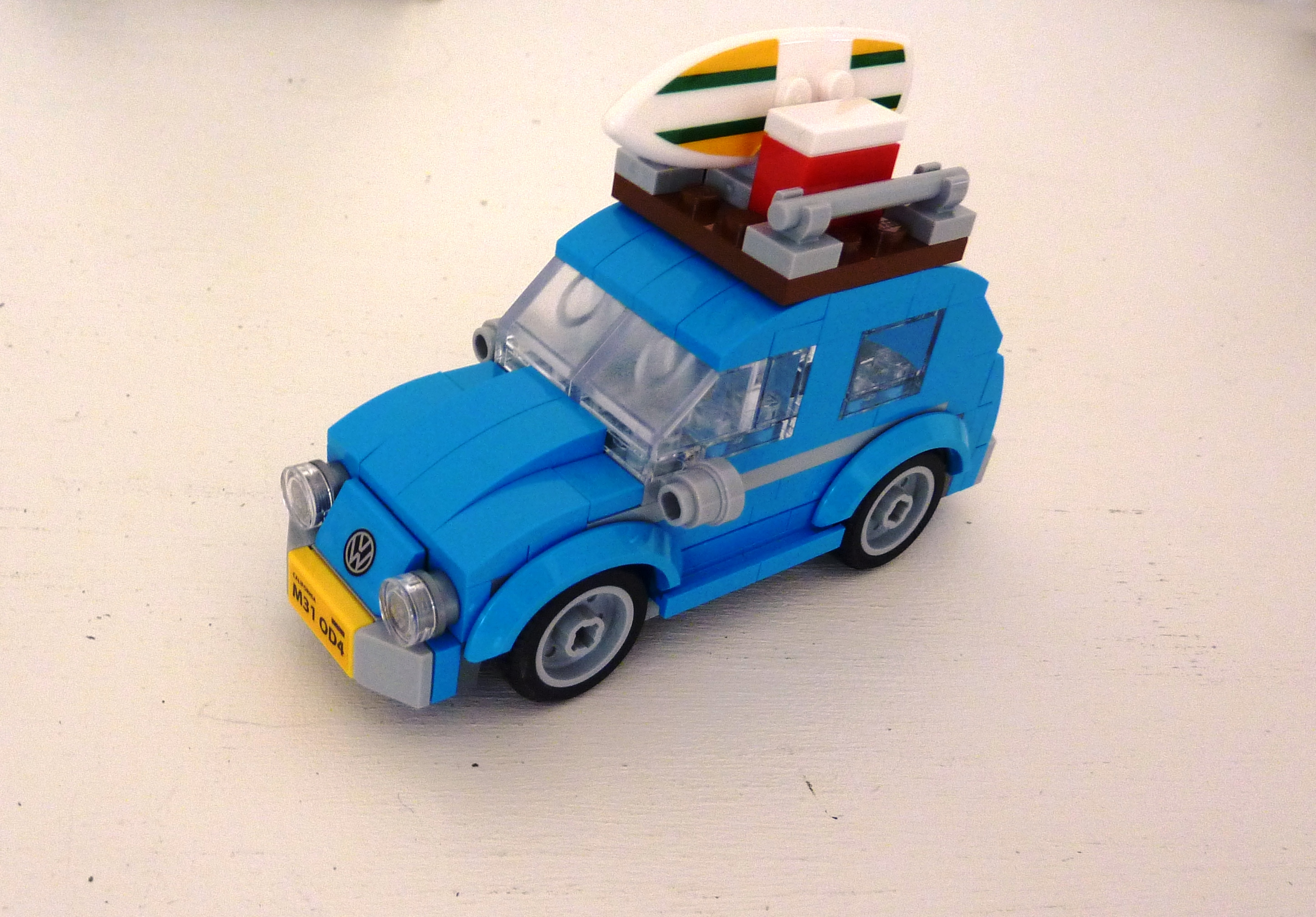 Rendu final LEGO VW 2CV (Mini)